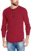 Lucky Brand Men's Long Sleeve Thermal Henley Shirt