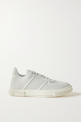 Giuseppe Zanotti Leather Sneakers - Ivory