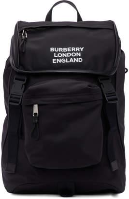 Burberry Black Nylon Rocky Backpack