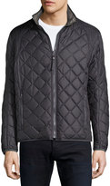 Andrew Marc Floyd Quilted Zip-Up Jacket, Steel