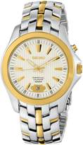Seiko Men's SNQ102 Perpetual Calendar Two-Tone Solid Stainless-Steel Case and Bracelet Dial Watch