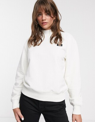 Dickies relaxed high neck sweatshirt with small front logo