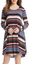 Karen Kane Women's Maggie Stripe Swing Dress