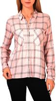 Tom Tailor Fluent double check blouse