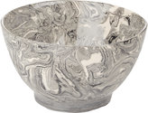 Simple Life Ebru Marbled Bowl