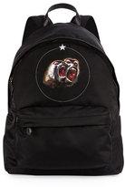 Givenchy Monkey Brothers Men's Nylon Backpack, Black