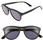 Toms Men's Declan 54Mm Sunglasses - Matte Black