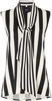 Marella Cervino stripey sleeveless top