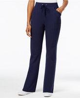 Karen Scott Petite Pull-On Drawstring Pants, Only at Macy's
