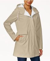 Rachel Roy Two-Tone Raincoat, Only at Macy's