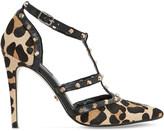 Dune Daenerys leopard-print court shoes