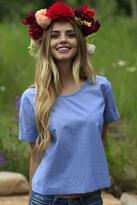 Shabby Apple Blue Skye Shirt