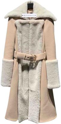 Gareth Pugh Beige Wool Coats