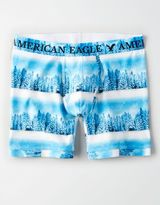 "American Eagle Outfitters AE Winter Scene 6"" Classic Boxer Brief"