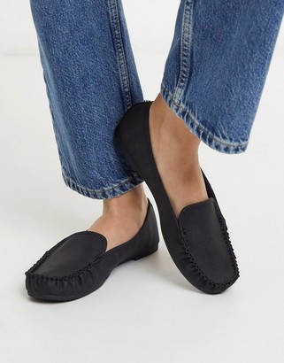 Call it SPRING werracia flat loafers in black