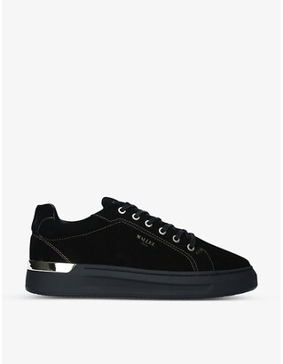 Mallet GRFTR suede low-top trainers