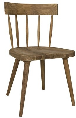 Noir Esme Solid Wood Dining Chair