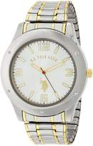 U.S. Polo Assn. Men's Oversized Bezel Dial Expansion Watch USC80013