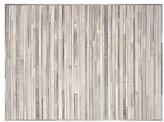 Calvin Klein Prairie - Arctic Rug In Silver