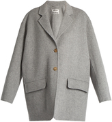 Acne Studios Lupi Doublé wool-blend coat