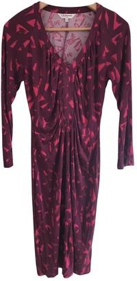 LK Bennett \N Red Silk Dress for Women