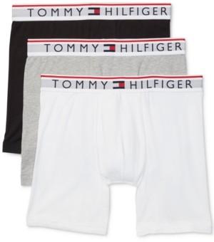 Tommy Hilfiger Men's 3-Pk. Modern Essentials Boxer Briefs
