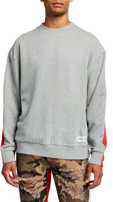 Mostly Heard Rarely Seen Men's Fanatic Crewneck Sweatshirt
