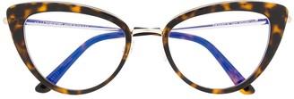 Tom Ford Cat-Eye Shaped Glasses