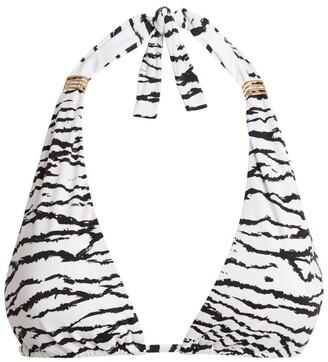 Melissa Odabash Grenada Tiger Print Bikini Top