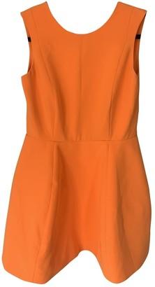 Aq/Aq Aqaq Orange Dress for Women
