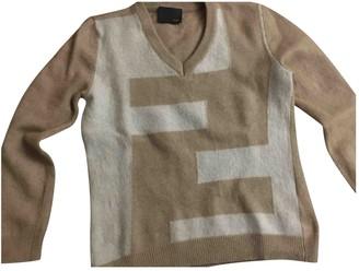 Fendi Beige Wool Knitwear