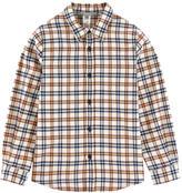 Bonpoint Checked herringbone shirt