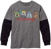 Star Wars pixelated mock-layer tee - boys 8-20