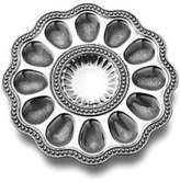 Wilton Armetale Flutes & Pearls Egg Tray
