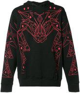 Marcelo Burlon County of Milan decorative sweatshirt - men - Cotton - S