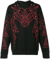 Marcelo Burlon County of Milan decorative sweatshirt - men - Cotton - XS