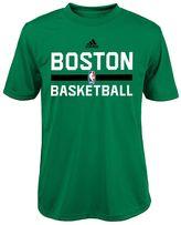 adidas Boys 4-7 Boston Celtics Practice climalite Tee