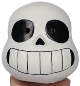 xcoser Sans Mask Helmet for Kids Halloween Costume Props Latex Black