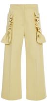 Marni Ruffle Cropped Trouser