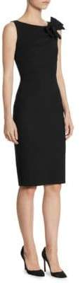 Chiara Boni Sleeveless Bow Accented Dress