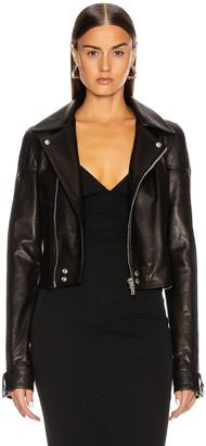 Rick Owens Dracubiker Jacket in Black | FWRD