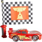 Mattel CARS FLAG FINISH LIGHTNING MCQUEEN