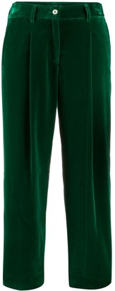Jejia Cropped Corduroy Trousers
