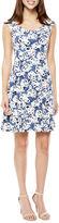 Ronni Nicole Sleeveless Fit & Flare Dress