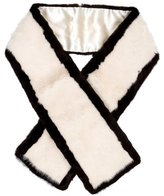 Pologeorgis Bi-Color Mink Stole