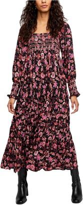Free People Sweet Escape Long Sleeve Maxi Dress