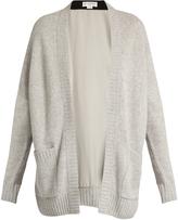 Amanda Wakeley Larson contrast-panel cashmere cardigan