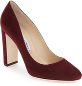 Jimmy Choo Laria Almond Toe Pump (Women)