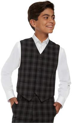 Calvin Klein Big Boys Shadow Check Vest