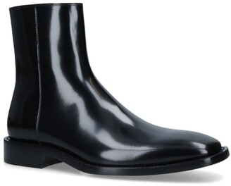 Balenciaga Leather Ankle Boots